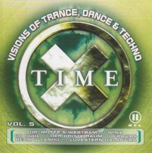 Cover - Geezmo: Time X Vol. 5 - Visions Of Trance, Dance & Techno