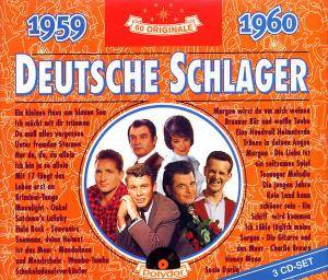 Cover - Honey Twins, Die: Deutsche Schlager 1959-1960