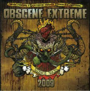 Cover - Slavebreed: Obsence Extreme - Silence Sucks 2009