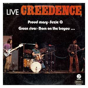 Cover - Creedence Clearwater Revival: Live Creedence