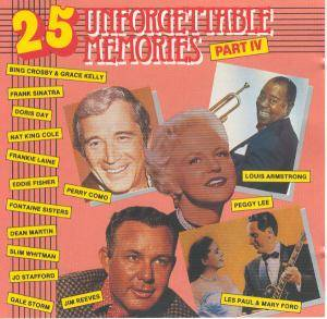 Cover - Jo Stafford: 25 Unforgettable Memories - Part IV
