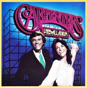 The Carpenters: Live At The Palladium - Cover
