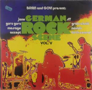 Brain and Govi present: German Rock Scene Vol. V (LP) - Bild 1
