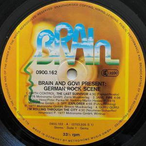 Brain and Govi present: German Rock Scene Vol. V (LP) - Bild 3