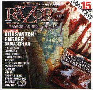 Metal Hammer 124 - March 2004: The Razor Vol. 2 - Cover