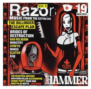 Metal Hammer 128.2 - July 2004: Razor Vol. 6 - Cover