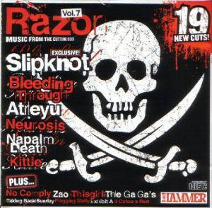 Metal Hammer 130 - September 2004: The Razor Vol. 7 - Cover