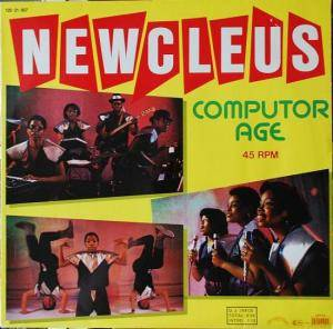 Cover - Newcleus: Computer Age