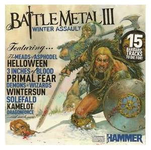 Cover - One Man Army And The Undead Quartet: Battle Metal III: Winter Assault