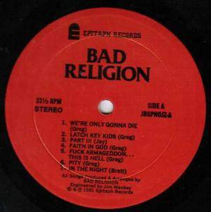 Bad Religion: How Could Hell Be Any Worse? (LP) - Bild 3