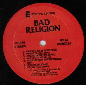 Bad Religion: How Could Hell Be Any Worse? (LP) - Bild 4