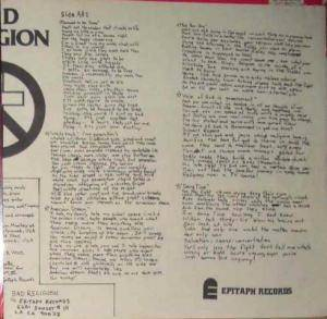 Bad Religion: How Could Hell Be Any Worse? (LP) - Bild 8
