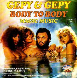 Cover - Gepy & Gepy: Body To Body