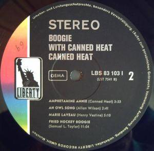 Canned Heat: Boogie With Canned Heat (LP) - Bild 4