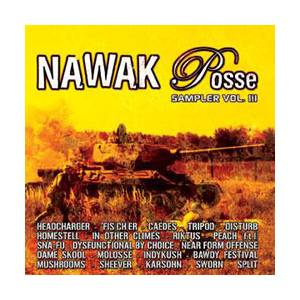 Nawak Posse Sampler Vol III - Cover