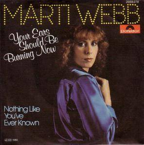 Cover - Marti Webb: Your Ears Should Be Burning Now