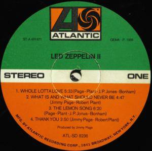 Led Zeppelin: II (LP) - Bild 2