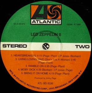 Led Zeppelin: II (LP) - Bild 3