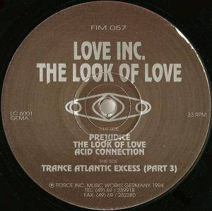 Cover - Love Inc.: Look Of Love, The