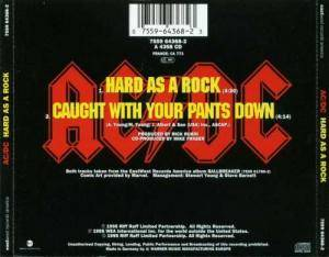 AC/DC: Hard As A Rock (Single-CD) - Bild 2