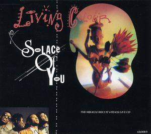 Living Colour: Solace Of You - Cover