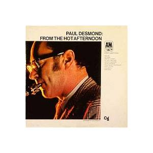 Paul Desmond: From The Hot Afternoon - Cover