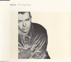 Pet Shop Boys: Before - Cover