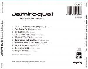 Jamiroquai: Emergency On Planet Earth (CD) - Bild 3