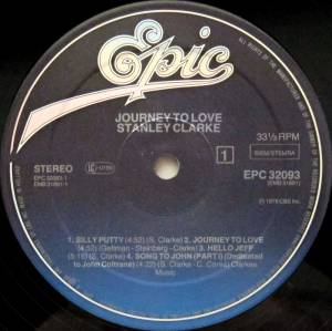 Stanley Clarke: Journey To Love (LP) - Bild 3