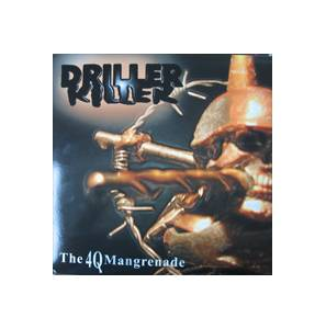 Driller Killer: 4Q Mangrenade, The - Cover