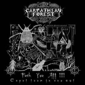 Carpathian Forest: Fuck You All!!!! - Cover