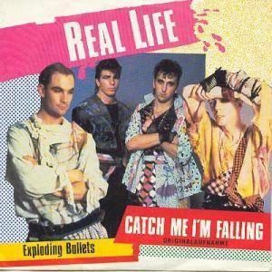 Real Life: Catch Me I'm Falling - Cover