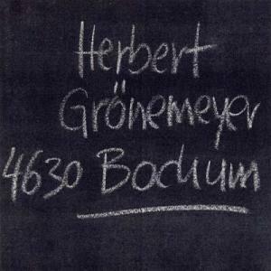 Herbert Grönemeyer: 4630 Bochum (CD) - Bild 1