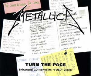 Metallica: Turn The Page - Cover