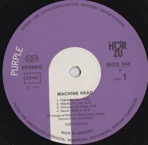 Deep Purple: Machine Head (LP) - Bild 2