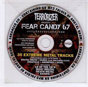 Cover - Sarke: Terrorizer 183 - Fear Candy 67