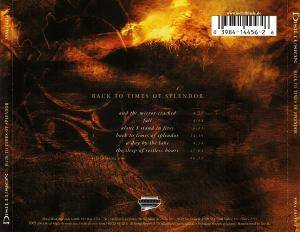 Disillusion: Back To Times Of Splendor (CD) - Bild 2