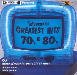 Television's Greatest Hits Volume 3 - 70's & 80's - Cover