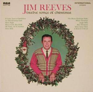 Cover - Jim Reeves: Twelve Songs Of Christmas