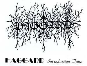 Cover - Haggard: Introduction-Tape