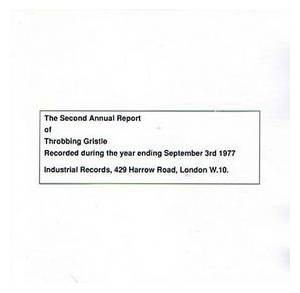 Cover - Throbbing Gristle: Second Annual Report, The
