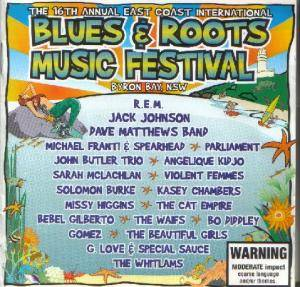 Cover - Jimmy Barnes: Blues & Roots Music Festival: The 16th Bluesfest Byron Bay East Coast