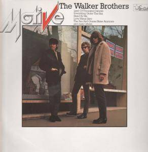 Cover - Walker Brothers, The: Motive