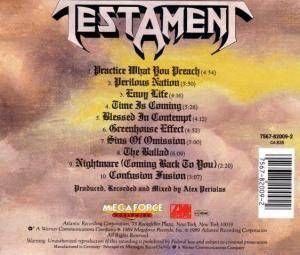Testament: Practice What You Preach (CD) - Bild 2