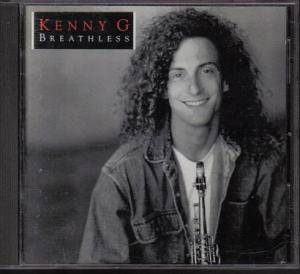 Cover - Kenny G: Breathless