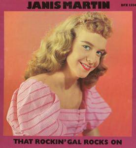 Cover - Janis Martin: That Rockin' Gal Rocks On