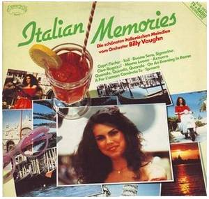 Cover - Billy Vaughn & His Orchestra: Italian Memories