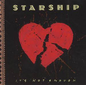 Starship: It's Not Enough - Cover