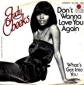 Cover - Judy Cheeks: Don't Wanna Love You Agian