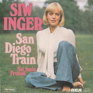 Cover - Siw Inger: San Diego Train